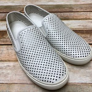 Tory Burch Jesse Perforated Slip On Sneaker